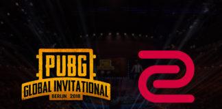 PUBG Global Invitational ZOWIE