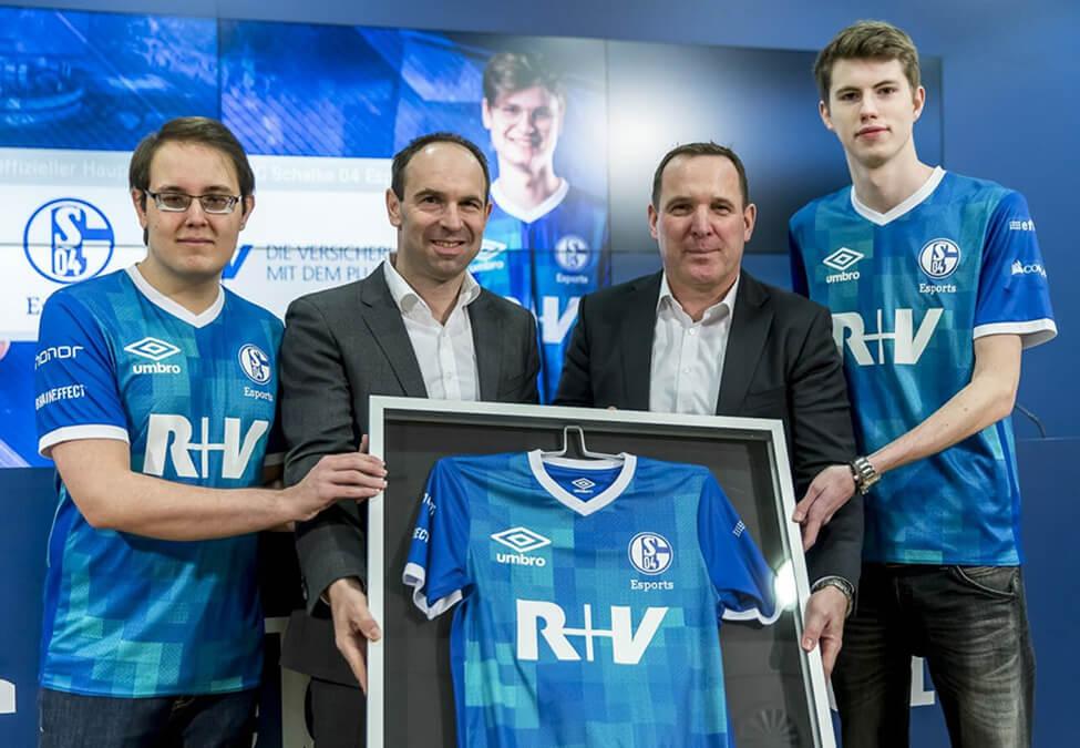 FC Schalke 04 Esports R+V Versicherung