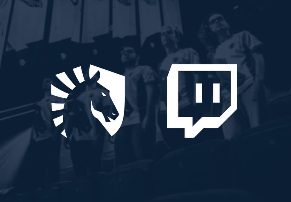 Team Liquid Twitch Sales Partnership