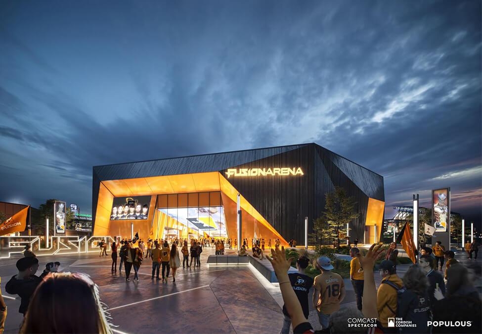 Comcast Spectacor Philadelphia Fusion Arena