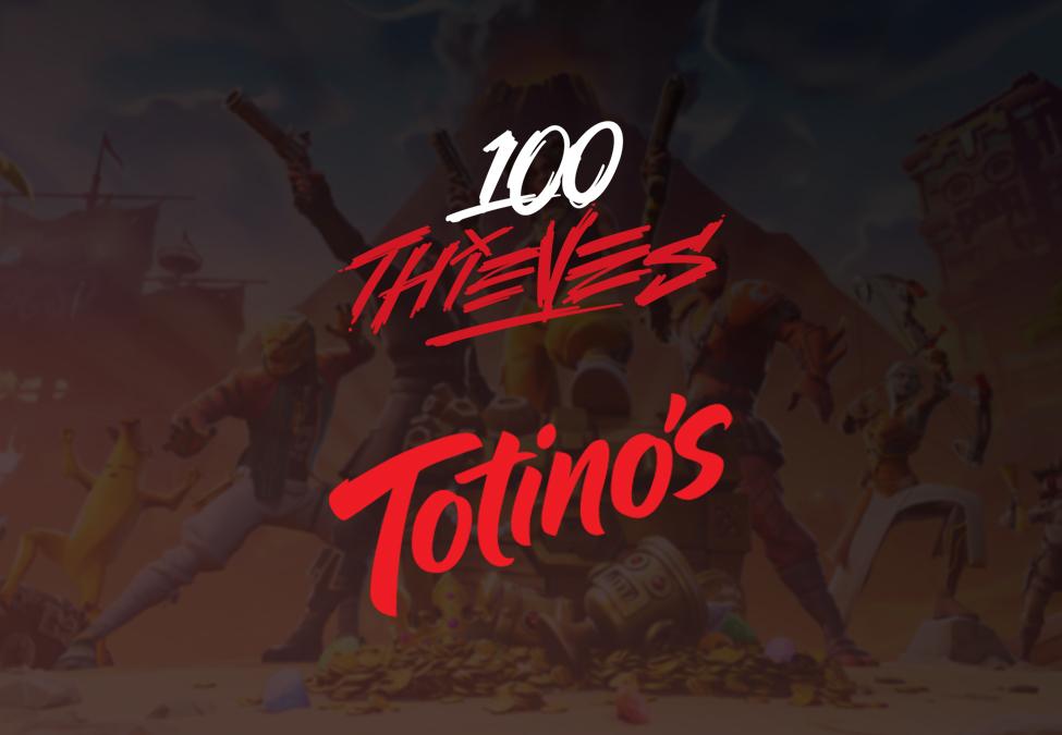 100 Thieves Totino's Fortnite