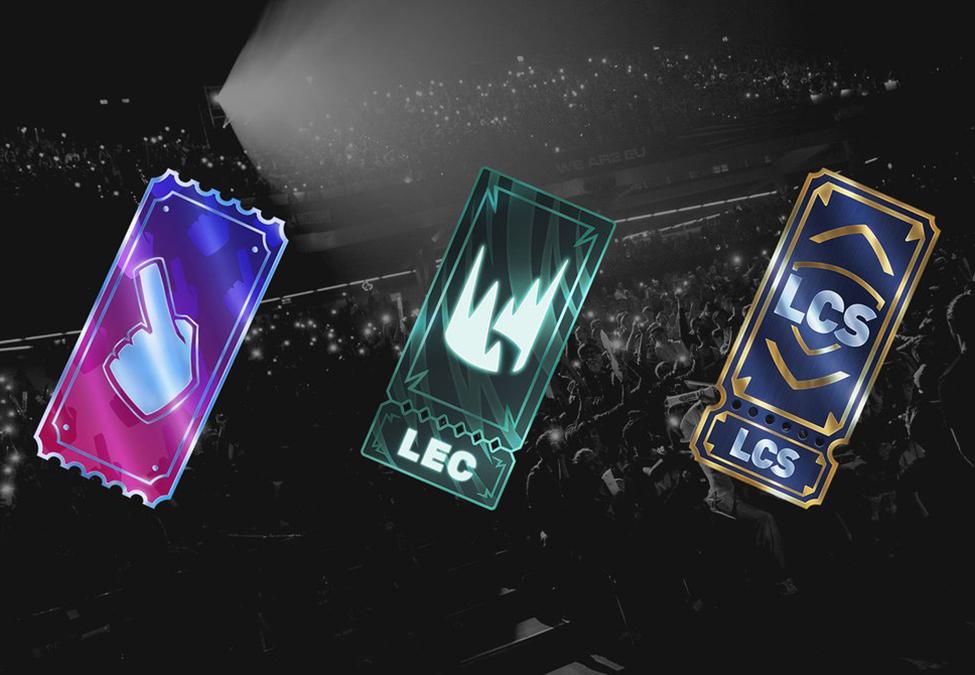 League of Legends Team Passes