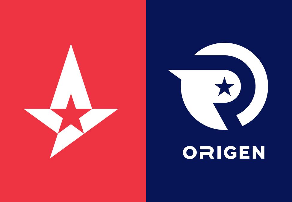 Astralis Origen RFRSH Entertainment