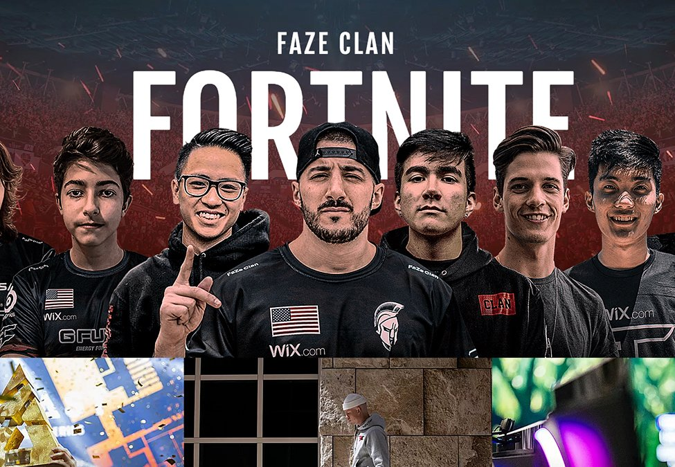 Fortnite Gaming Teams Faze Clan Finds Design Partner In Wix Esports Insider