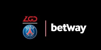 PSG.LGD Betway Sponsorship