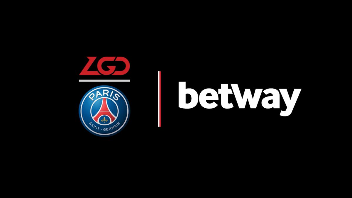 Psg Lgd Secures Six Figure Betway Sponsorship Esports Insider