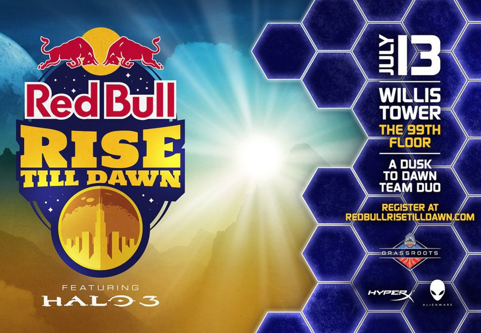 Red Bull Rise Till Dawn