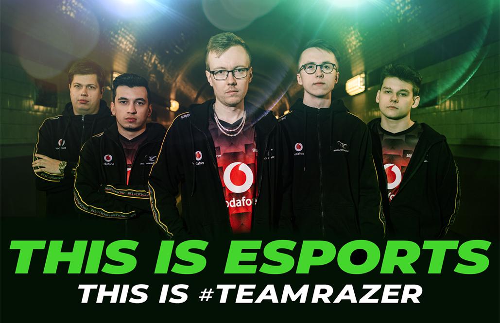 mousesports Razer Partnership