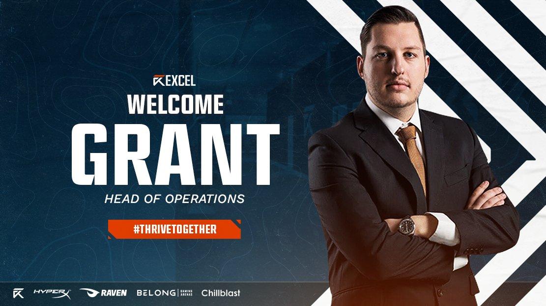 Excel Esports Grant Rousseau