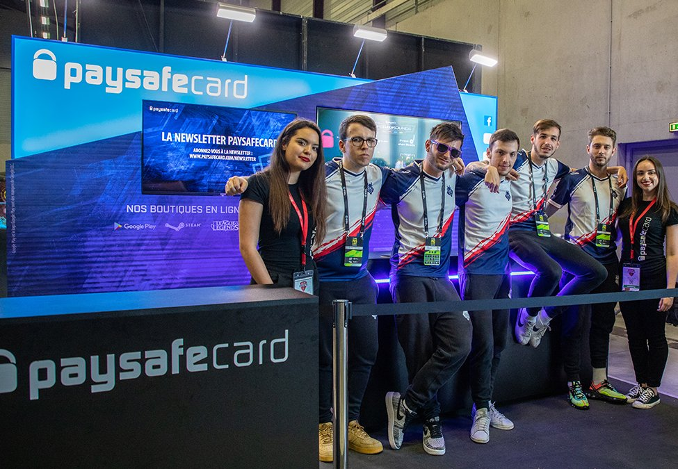 G2 Esports paysafecard Extension