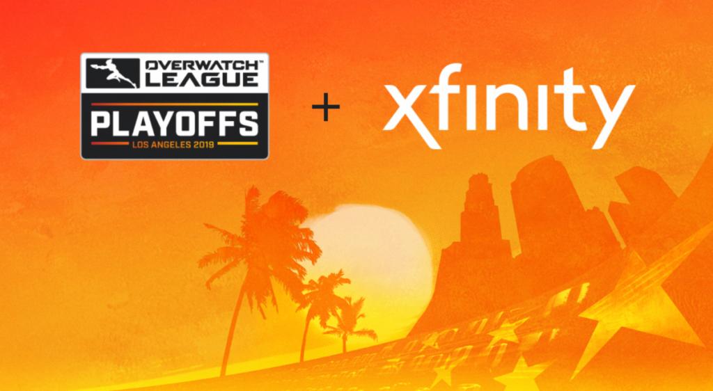 Overwatch League Xfinity