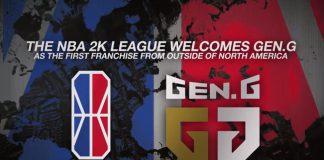 Gen.G esports NBA 2K League