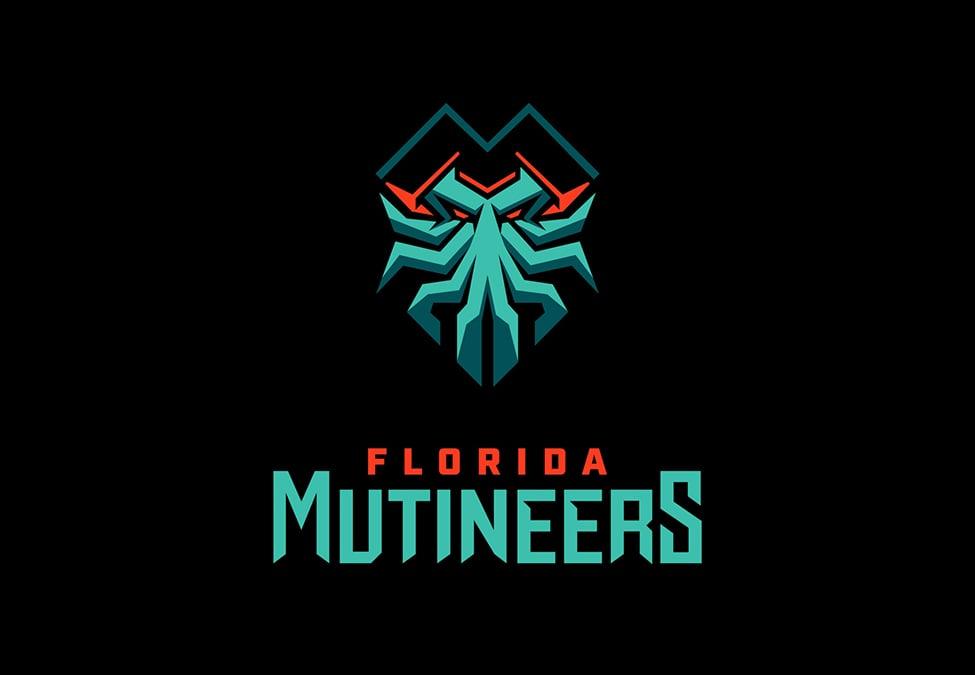 Florida Mutineers Branding