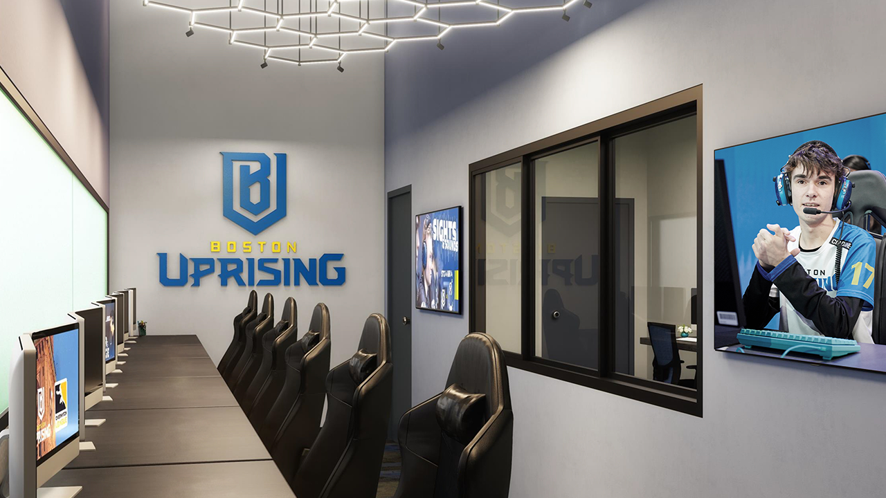 Boston Uprising Helix eSports Center