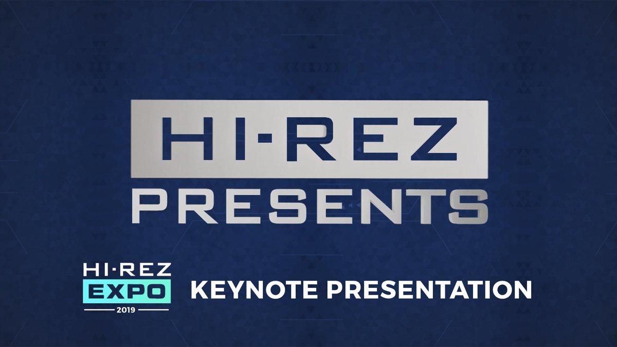 Hi-Rez Presents 2019