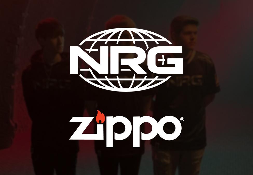 NRG Esports Zippo