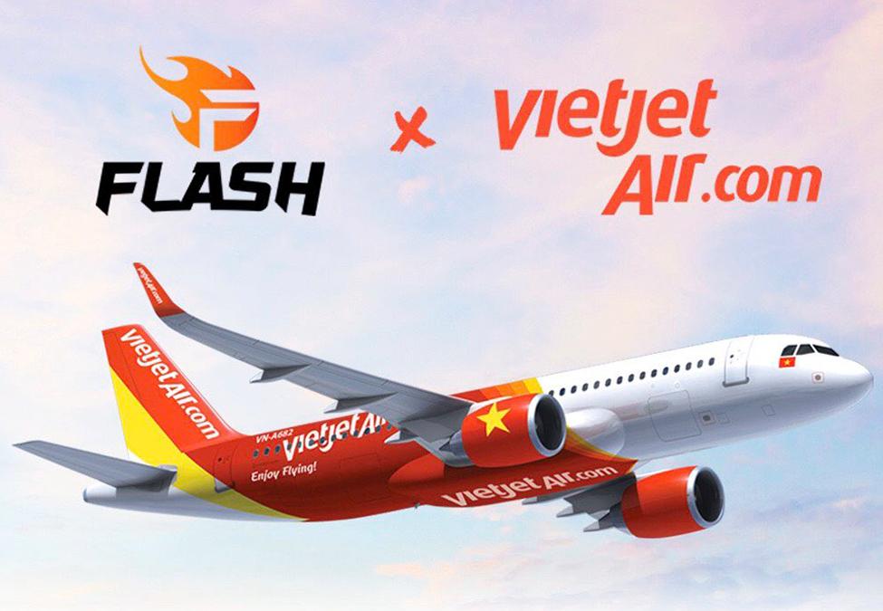 Team Flash VietJet