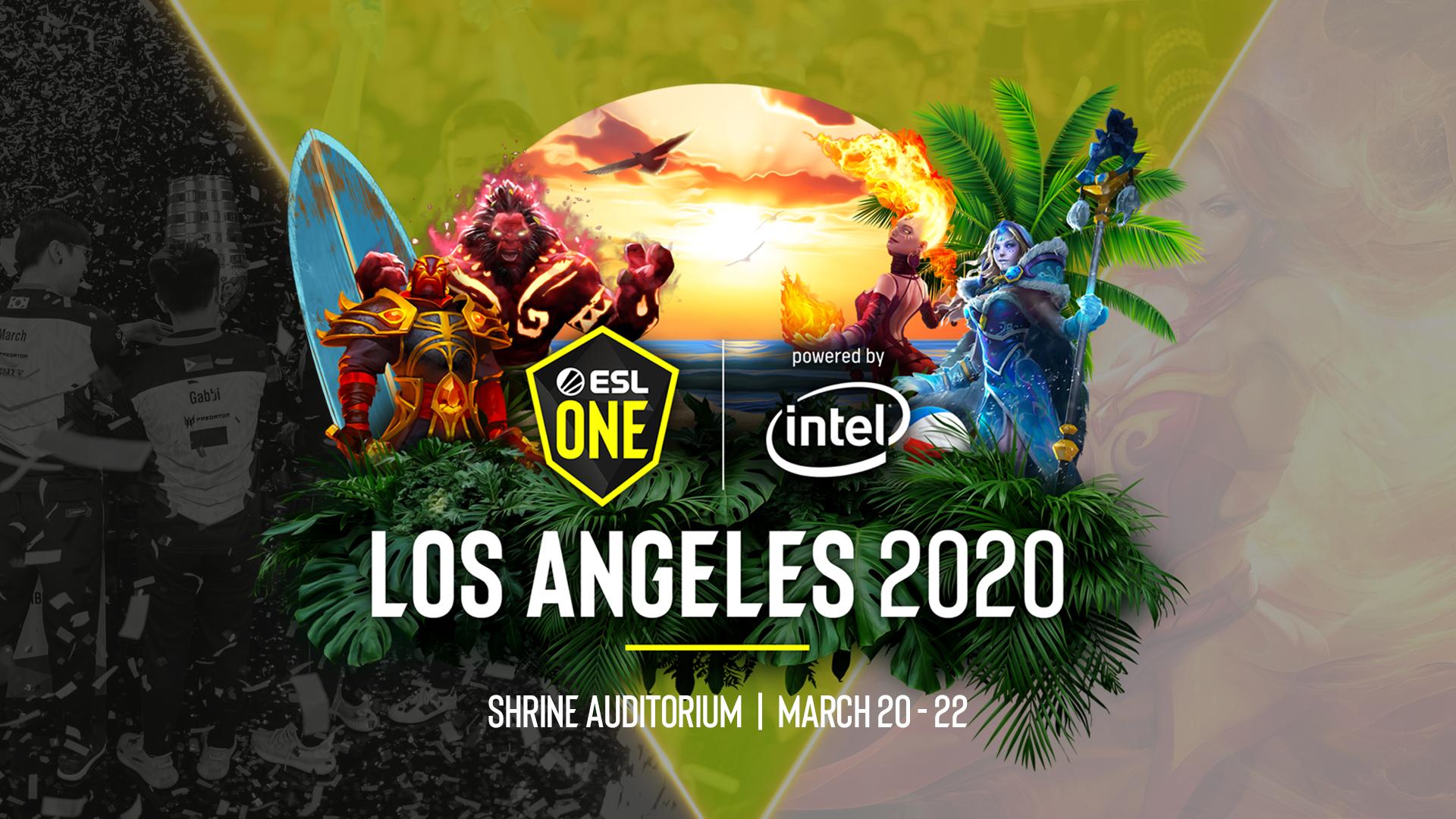 ESL One Los Angeles Dota 2