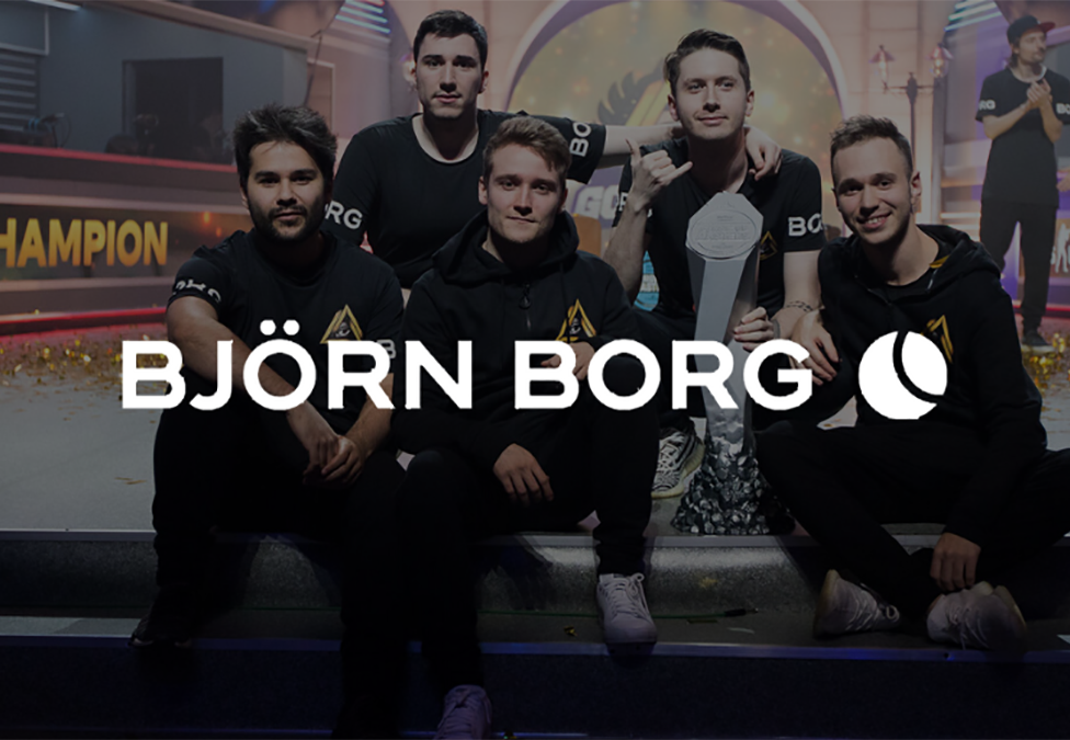 Godsent partner with Björn Borg