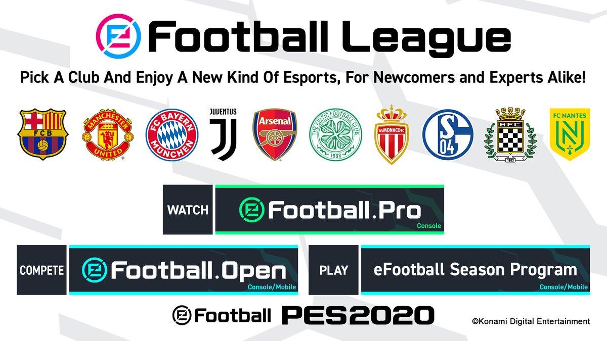 eFootball League Clubs