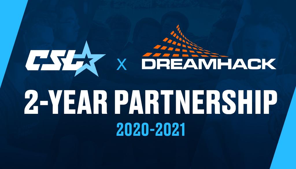 Collegiate StarLeague DreamHack Partnership