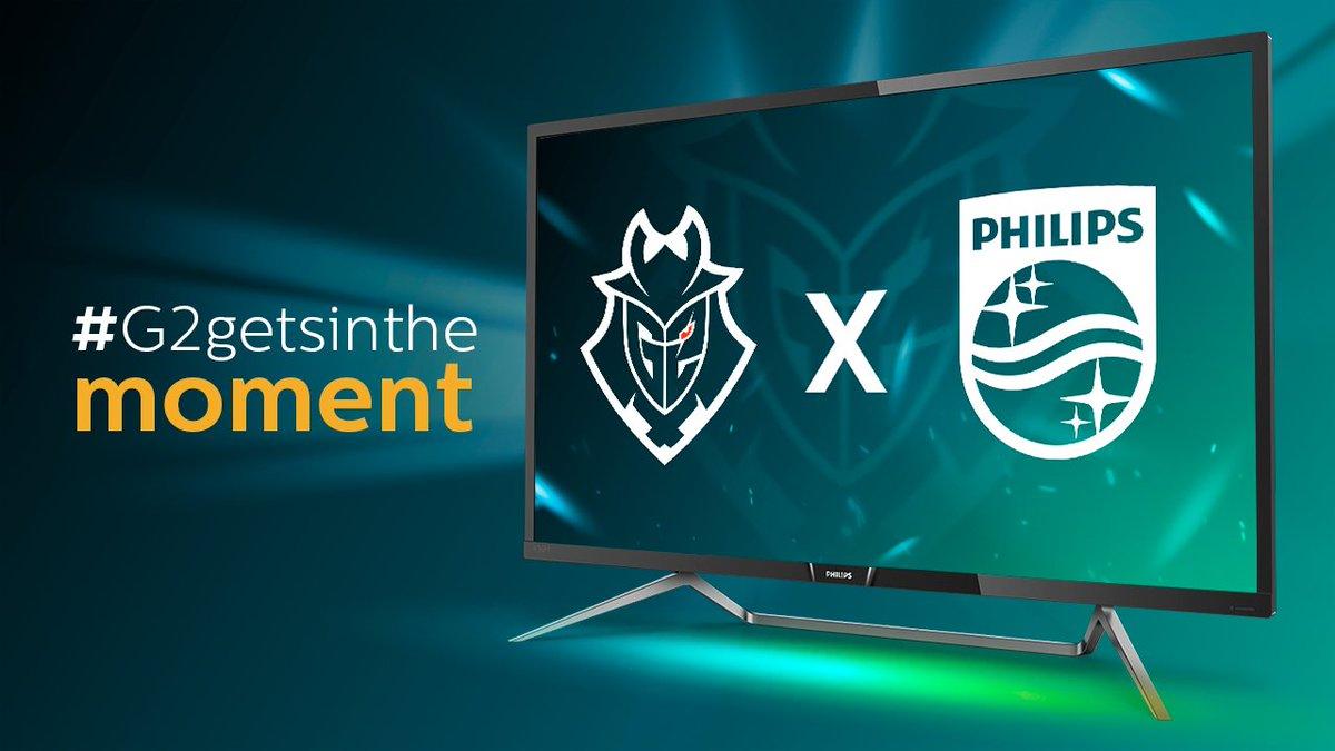 G2 Esports Philips Monitors Partnership