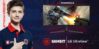 Gambit Esports LG Electronics