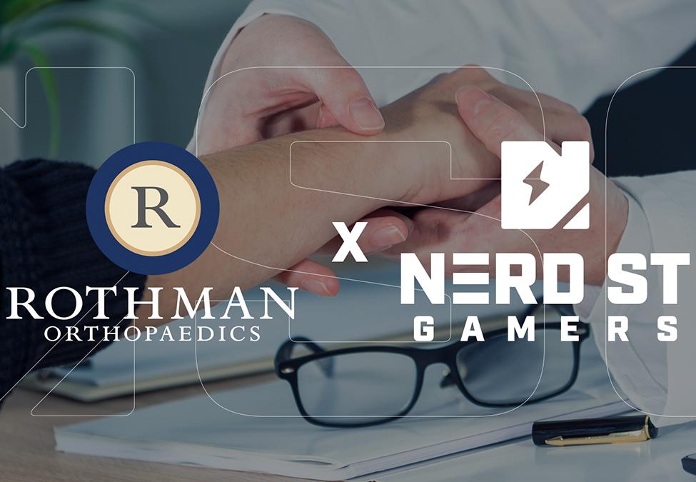 Nerd Street Gamers Rothman Orthopaedic Institute