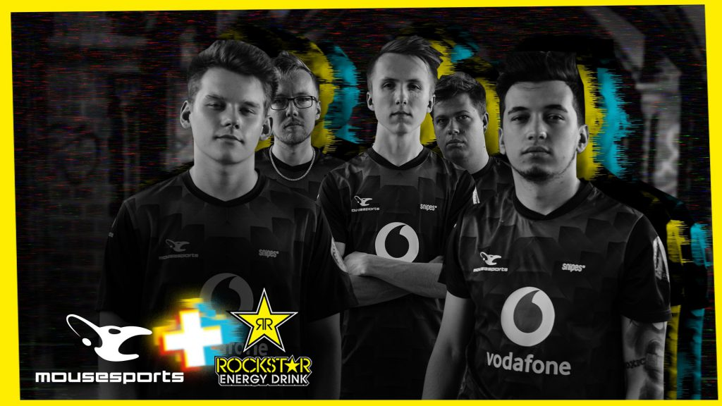 mousesports Rockstar Energy