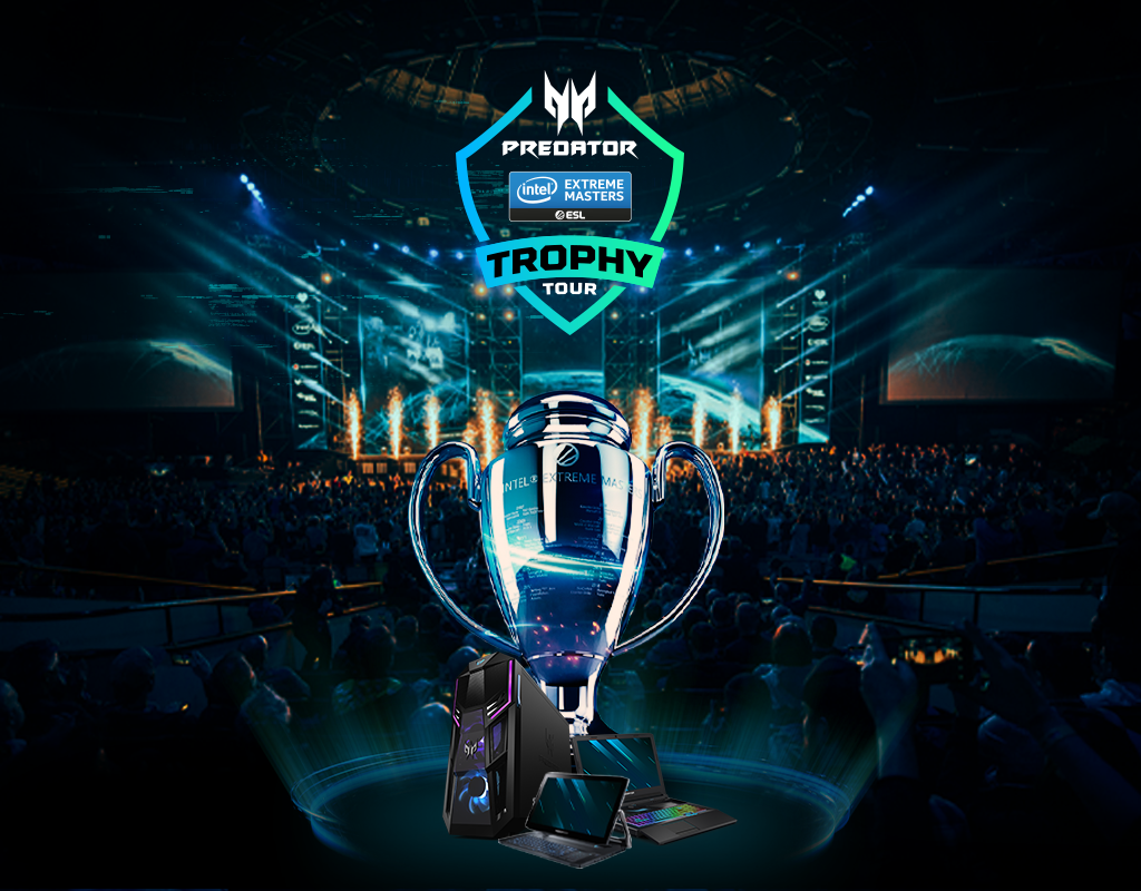 The final leg of the The Predator Intel Extreme Masters Trophy tour