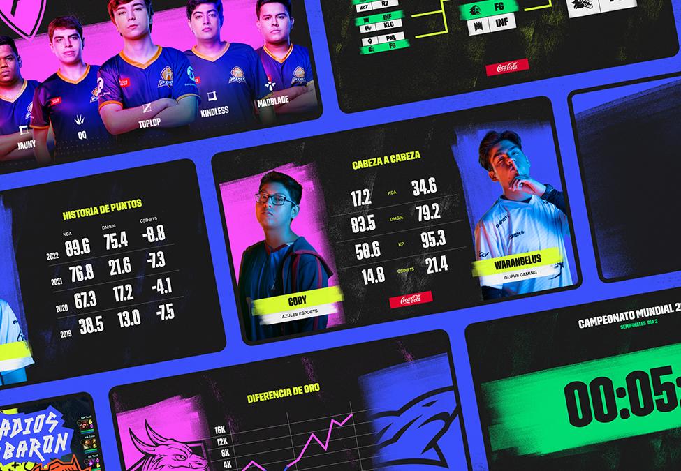 Latin America League Broadcast Screens
