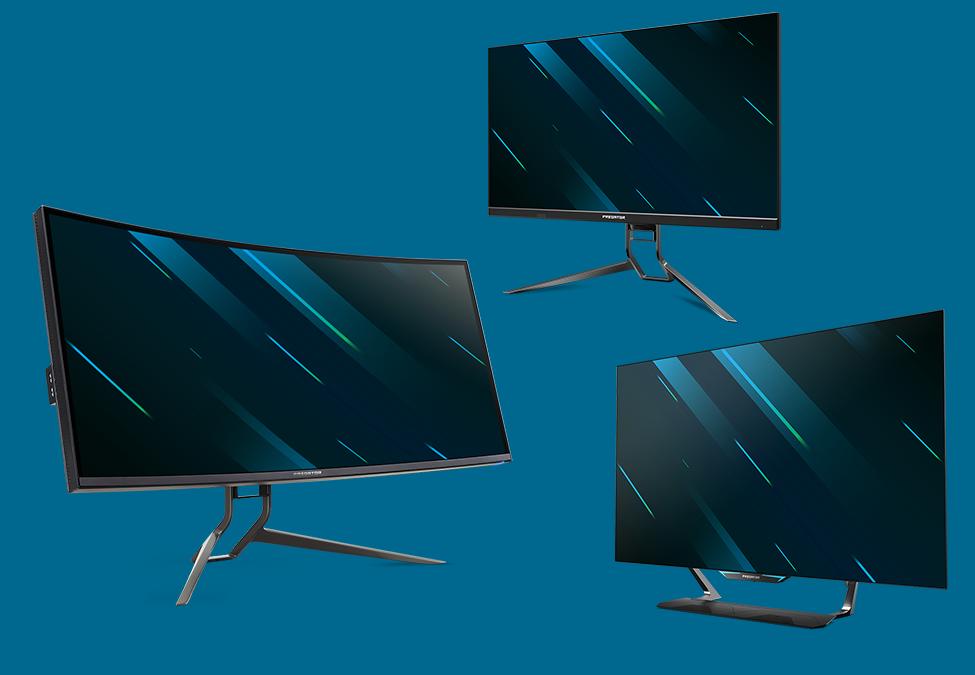 Acer showcase new Predator monitors