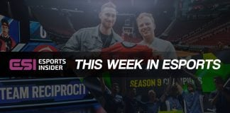 This week in esports