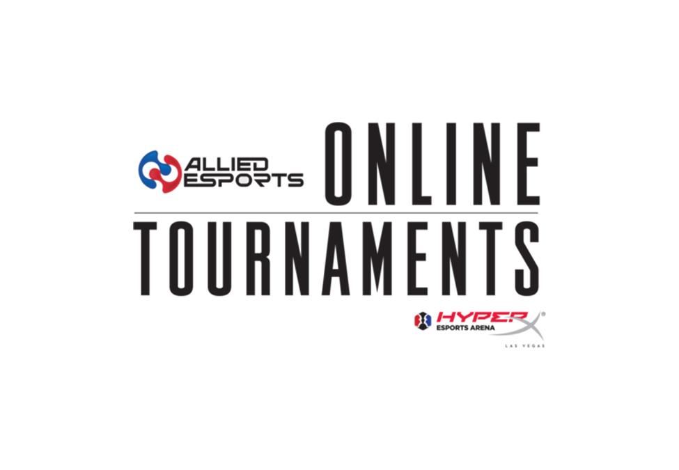 Allied Esports Online Tournaments HyperX