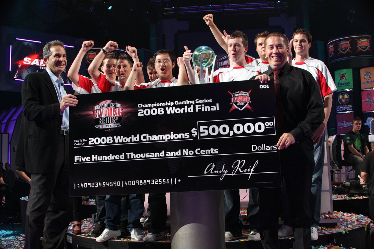 Championship Gaming Series 2008
