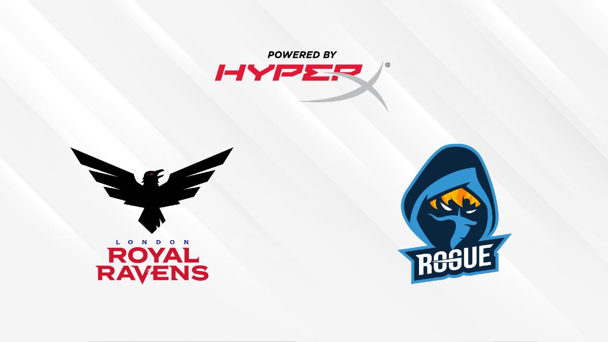 HyperX x London Royal Ravens x Rogue