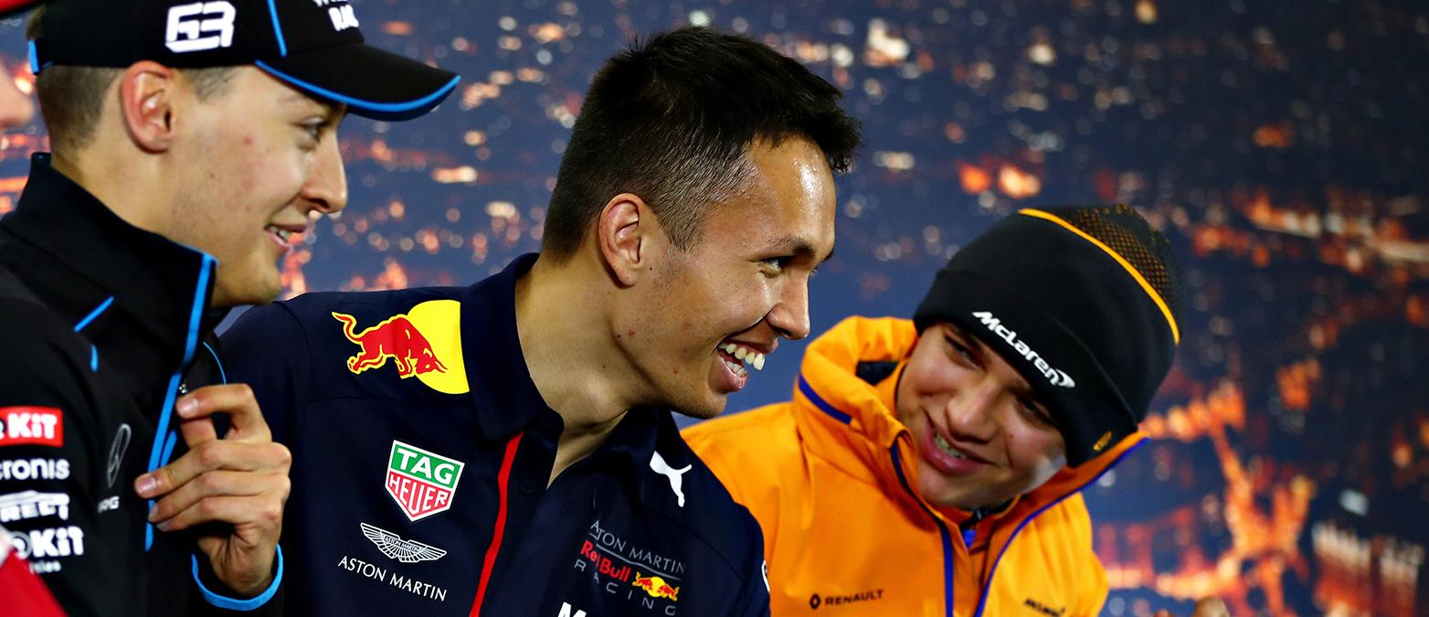 F1 drivers in Virtual GP