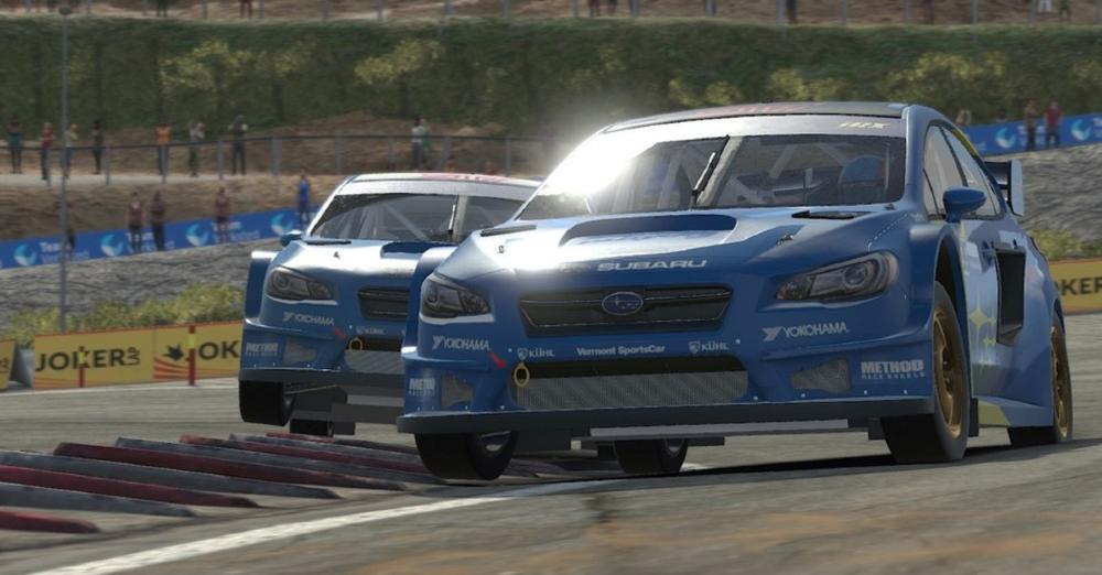 Subaru x iRacing