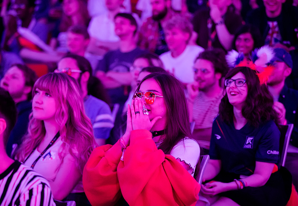 Fans on the edge of their seats during the 2019 UKLC Summer Split Final.