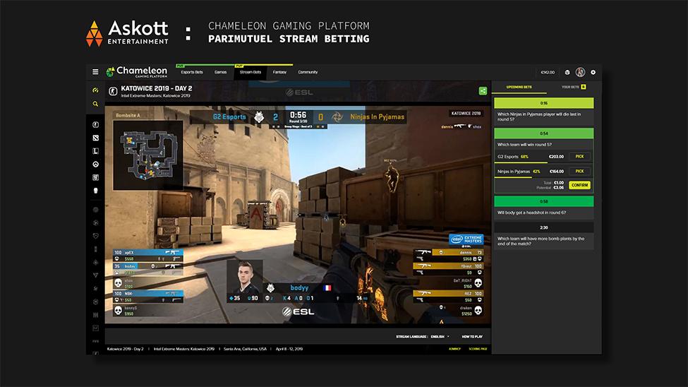 Askott Entertainment Stream Betting