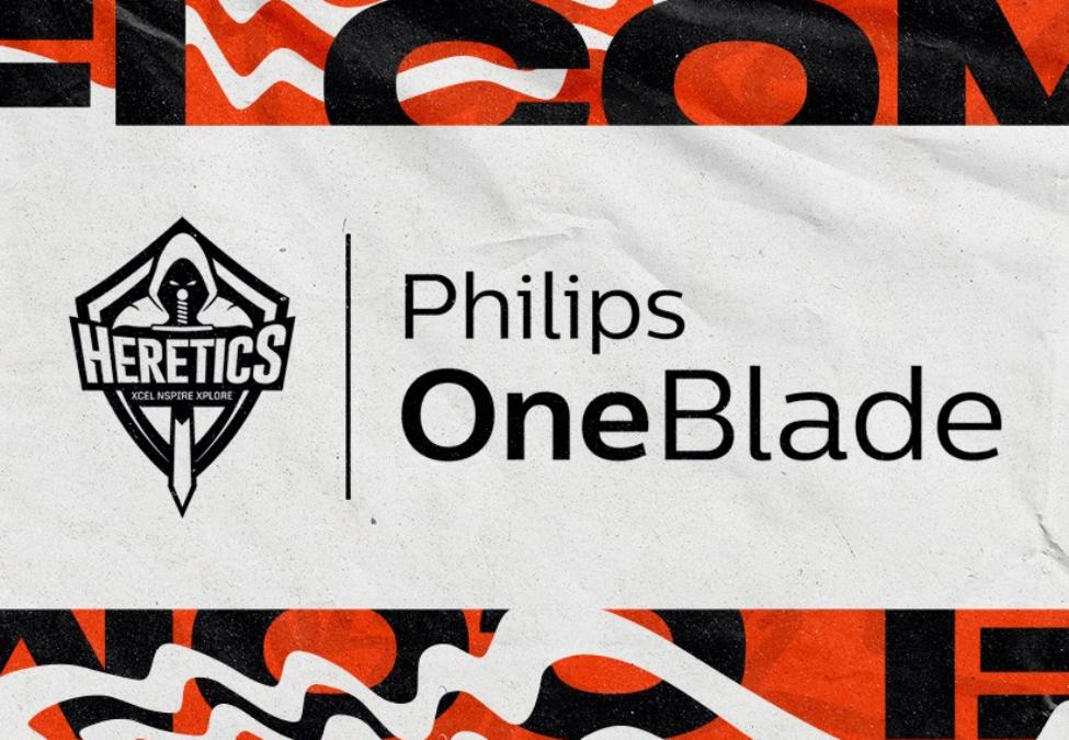 Team Heretics Philips OneBlade
