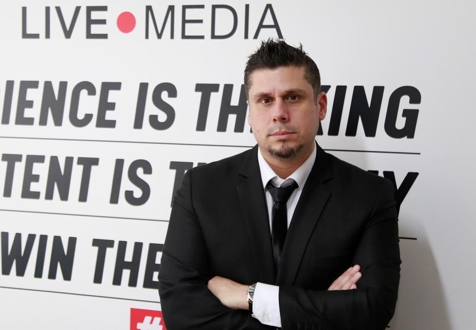 Luis Carrillo Pinto, Managing Director of Live Media Esports Entertainment.