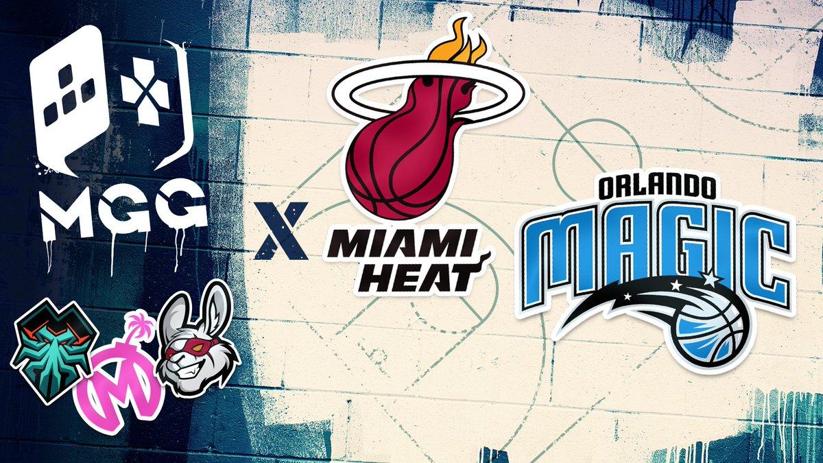 Misfits Gaming Group Miami Heat Orlando Magic