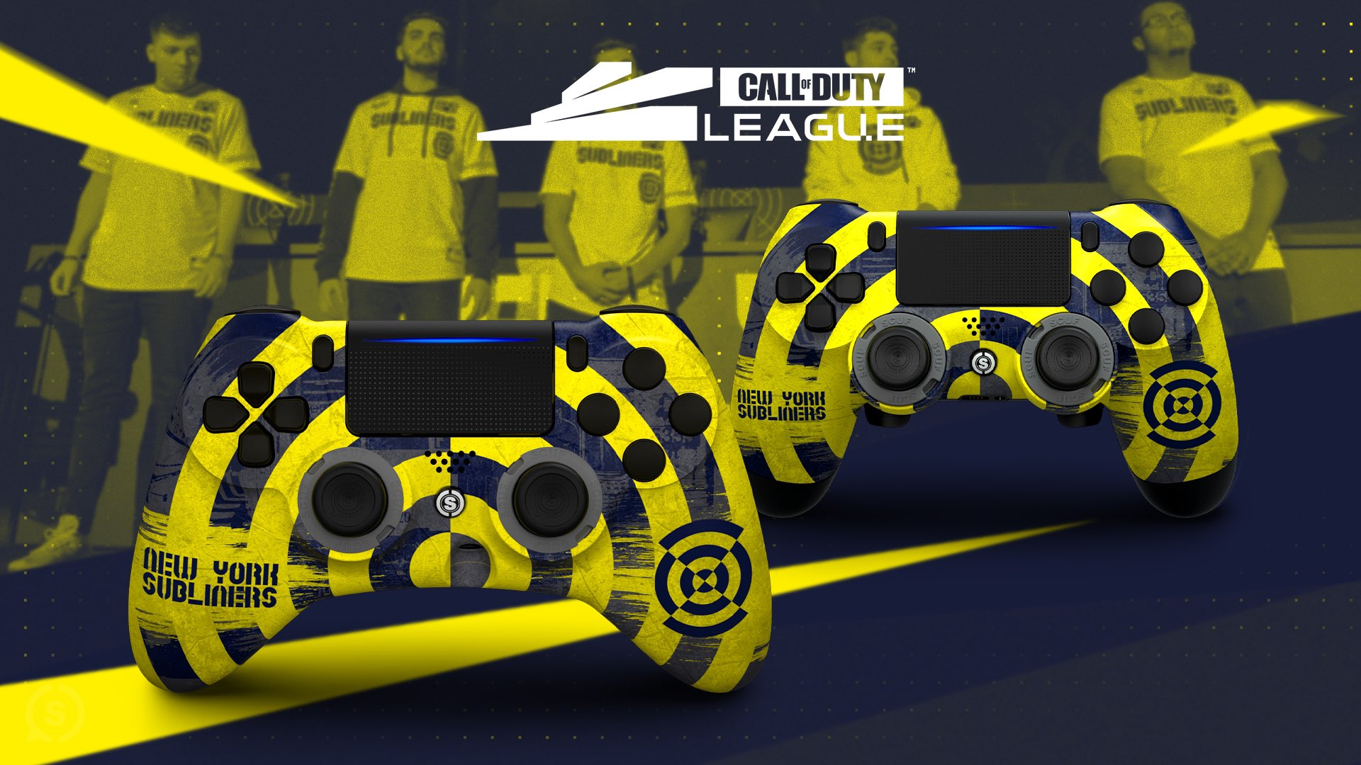 New York Subliners SCUF Gaming Controller