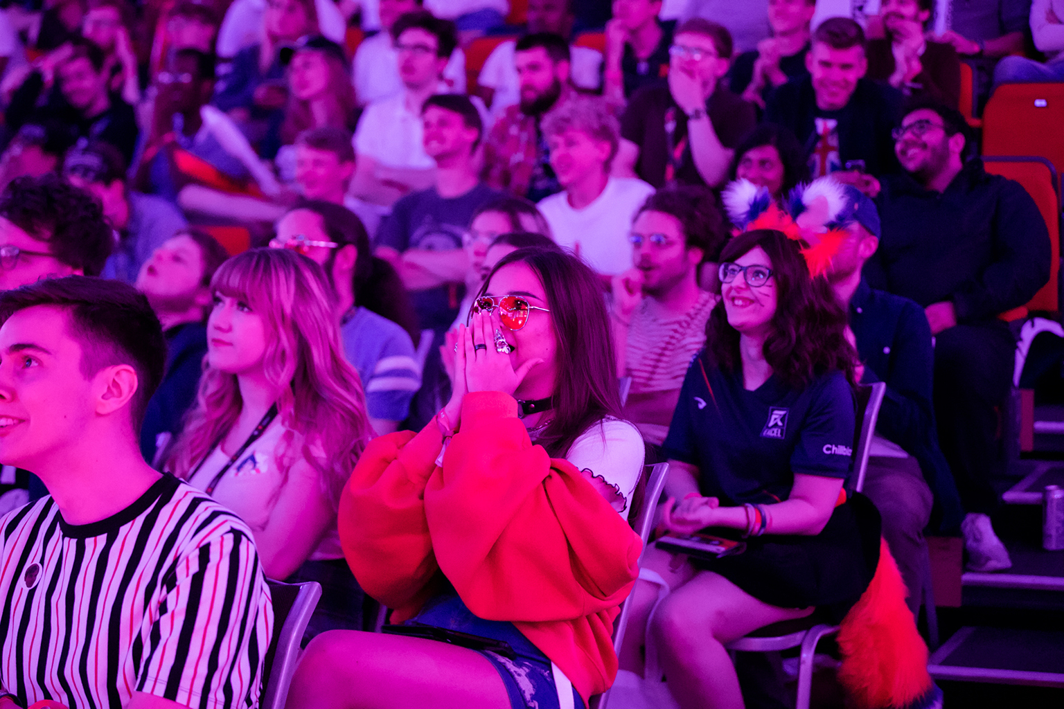 Fans at last year's UKLC Summer Finals. Photo credit: Joe Brady/LVP