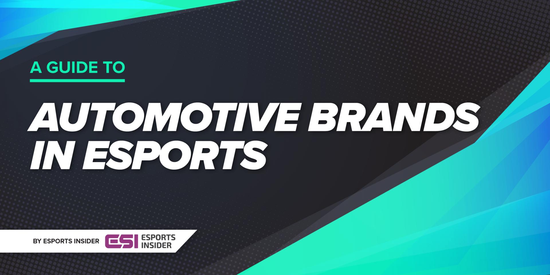 Automotive brands in esports