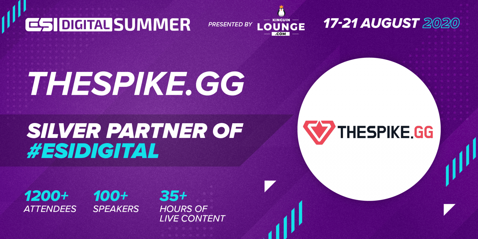 ESI Digital Summer Silver Partner THESPIKE.GG