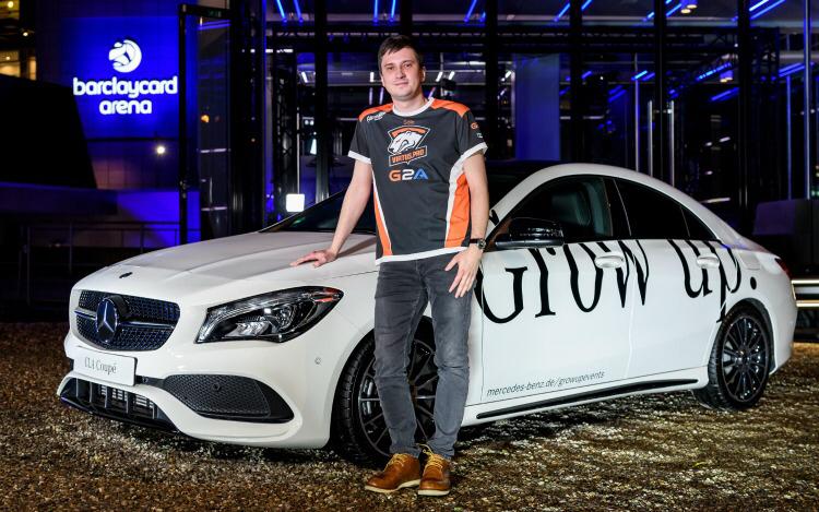 ESL One MVP Mercedes-Benz