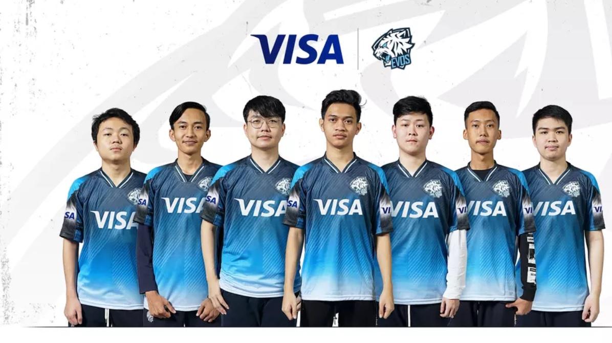 EVOS esports Visa partnership