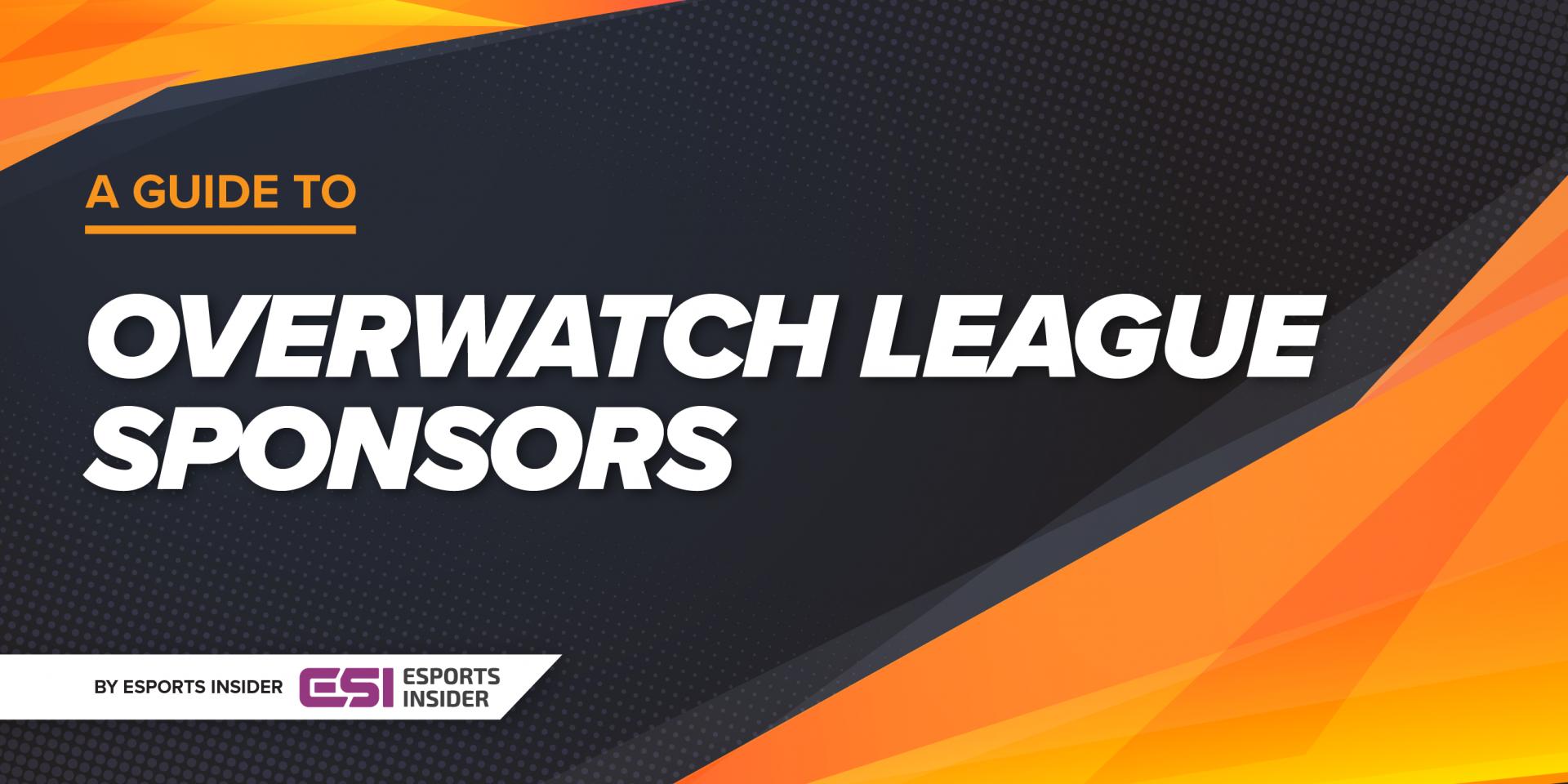Overwatch League sponsors